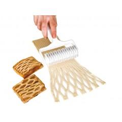 Rouleau à pâtes losange