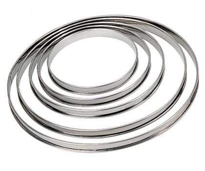 Cercle à tarte inox 20 cm
