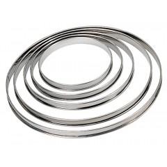 Cercle à tarte inox 28 cm