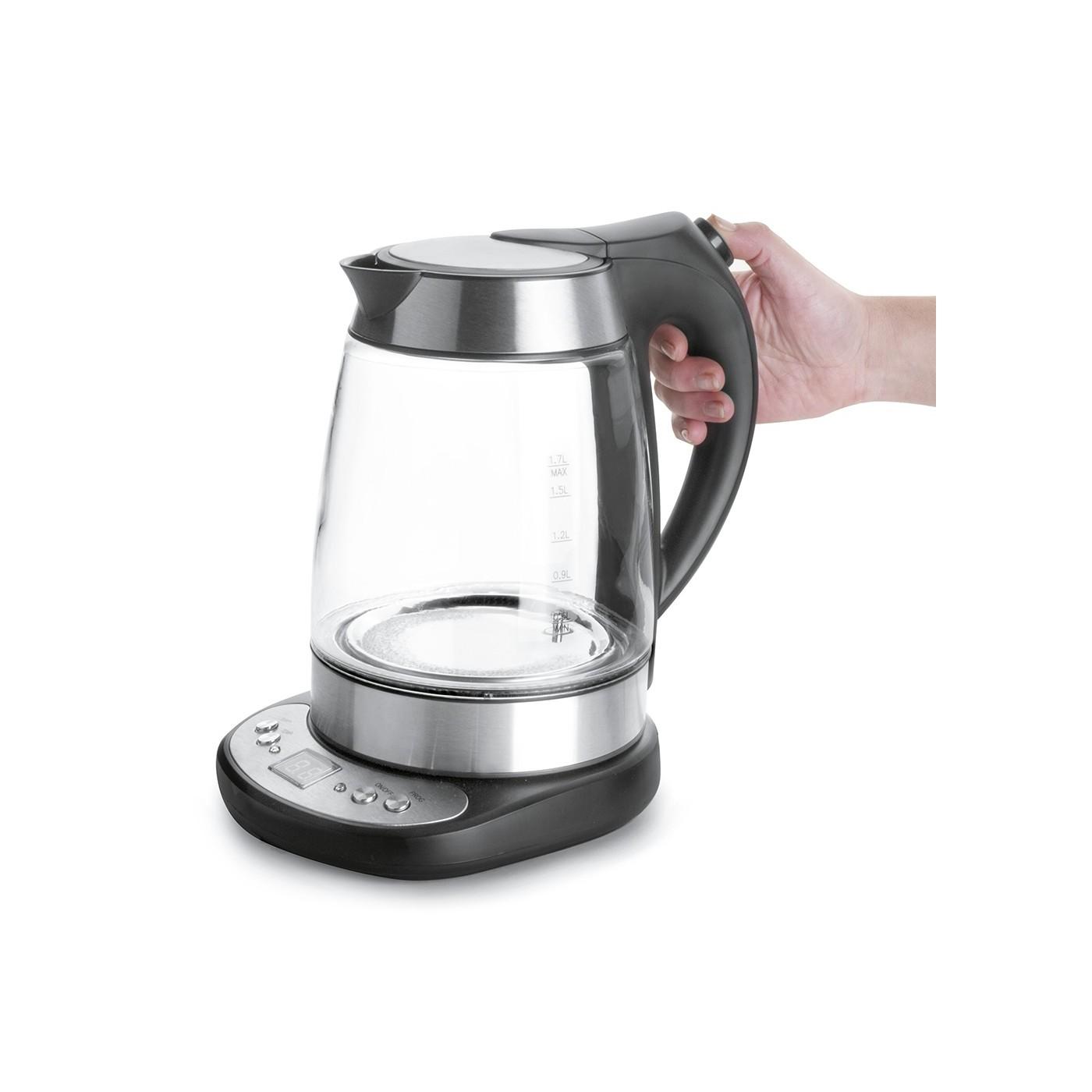 Bouilloire verre lectrique temp rature r glable - Bouilloire a temperature reglable ...