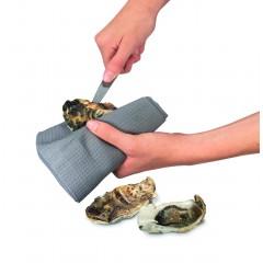 Lancette à huître inox/palissandre