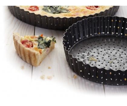 Moule à tarte perforé 28 cm