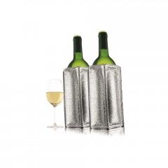 2 refroidisseurs à vin argenté