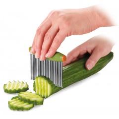 Coupe légumes ondulé