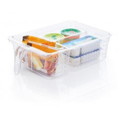 Panier de rangement réfrigérateur 3 compartiments