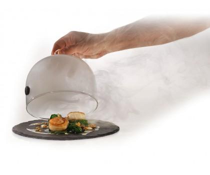 Cloche à fumer verre diamètre 13 cm