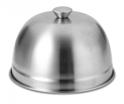 Cloche inox diamètre 17 cm