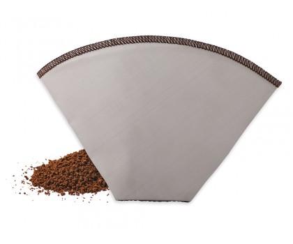 Filtre à café universel acier inox taille 2