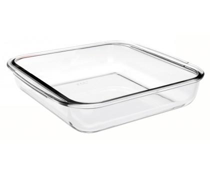 Plat verre carré 1,8 litre
