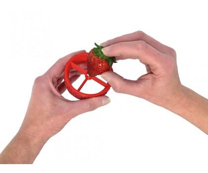 Equeuteur et coupe-fraise