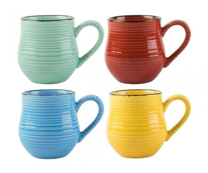 4 mini mugs à café 4 couleurs
