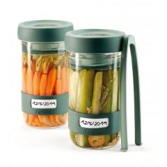 2 jarres de fermentation