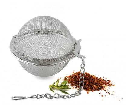 Boule inox à herbes et épices