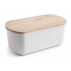Boîte à pain couvercle planche