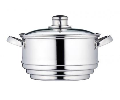 Multi vapeur inox 16 - 18 - 20 cm couvercle
