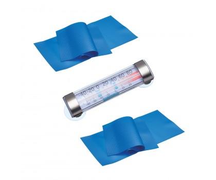 Ensemble thermomètre et 2 tapis antigivre