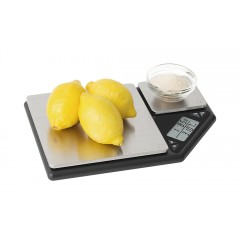 Balance 2 plateaux inox 5 kg + 500 g