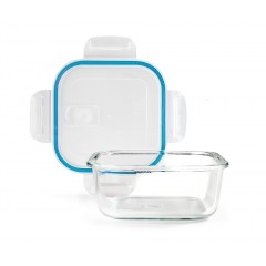 Boîte conservation carrée verre 1,20 litre