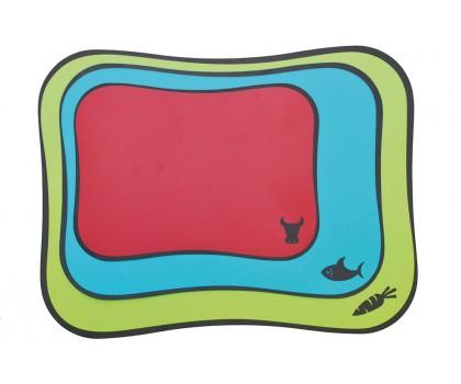 3 planches colorées souples