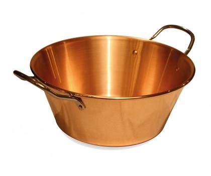 Bassine en cuivre 7 litres