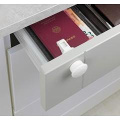 4 serrures magnétiques placard et tiroir