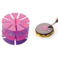 4 marque parts de gâteau