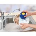 Brosse vaisselle picots avec réservoir